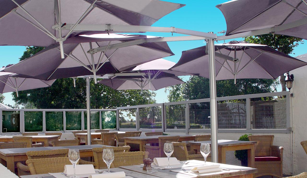 offset umbrella - paraflex umbrella systemumbrosa