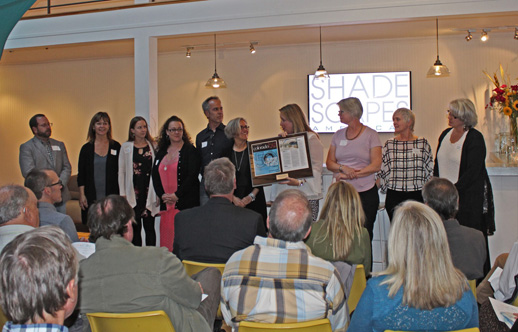 ShadeScapes Shares 2017 CCTW Win with Other Businesses