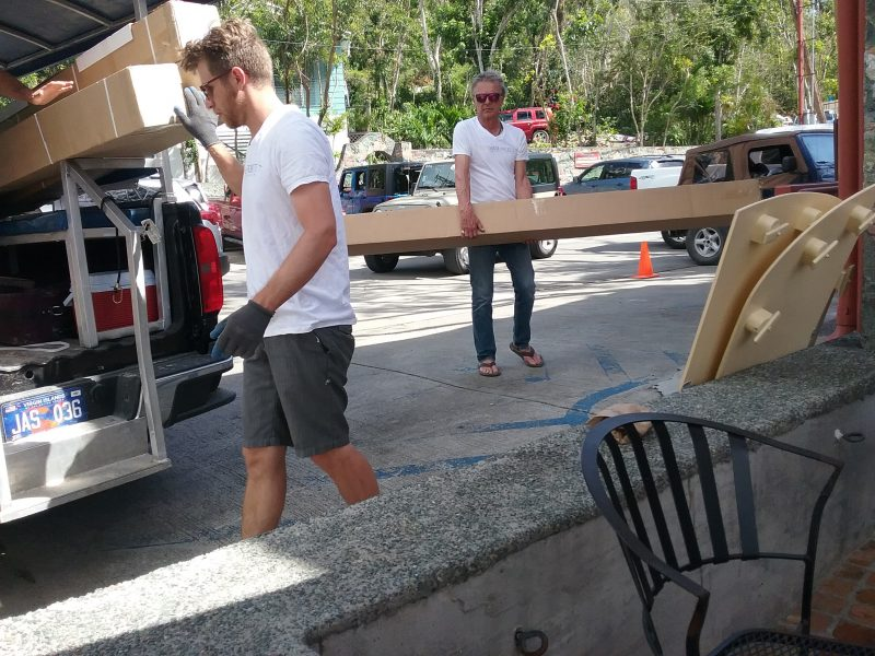 Bordeaux Snowbird Provides Shade as Local Businesses Recover